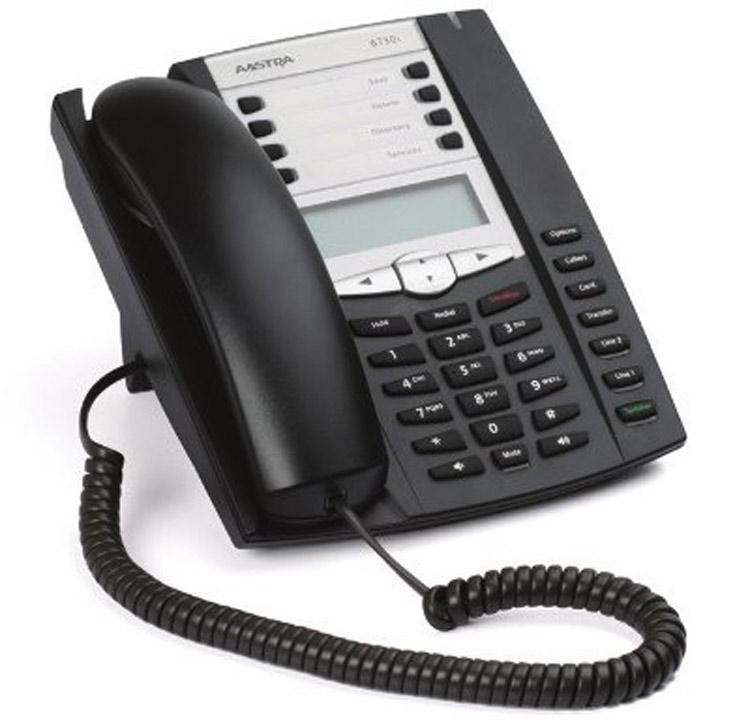 تصویر سمت راست Aastra 6730i IP Phone