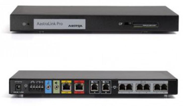 نمای روبرو و پشت Aastra Link Pro™ 160