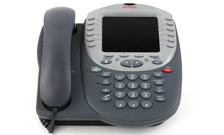 تصویر جلو Avaya 4625SW IP Phone