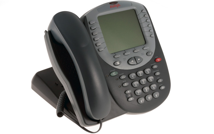نمای سمت راست Avaya 4625SW IP Phone