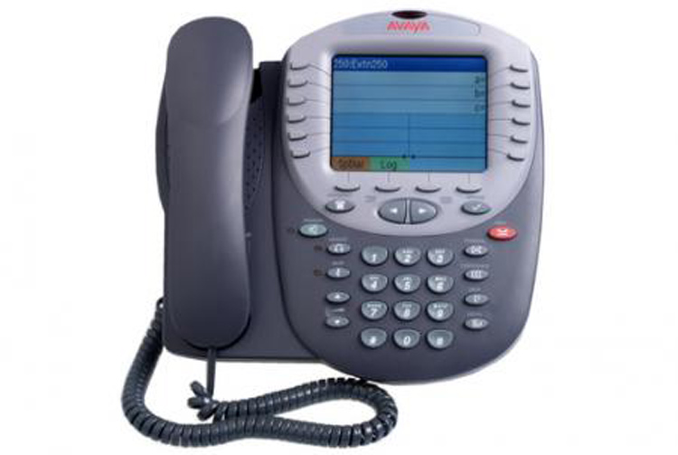 نمای روبرو Avaya 4625SW IP Phone