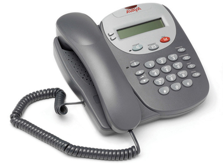 نمای سمت راست Avaya 5602sw IP Phone