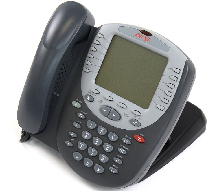 نمای سمت جپ Avaya 5621sw IP Phone