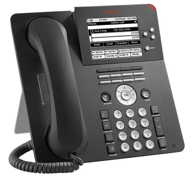 نمای روبرو Avaya 9650 IP Phone