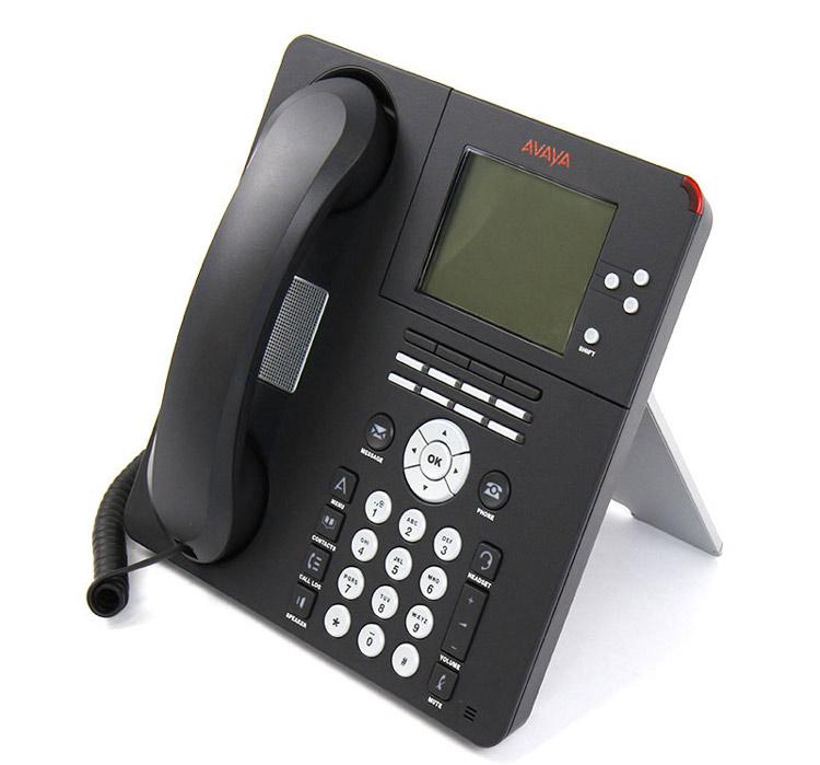 نمای سمت چپ Avaya 9650 IP Phone