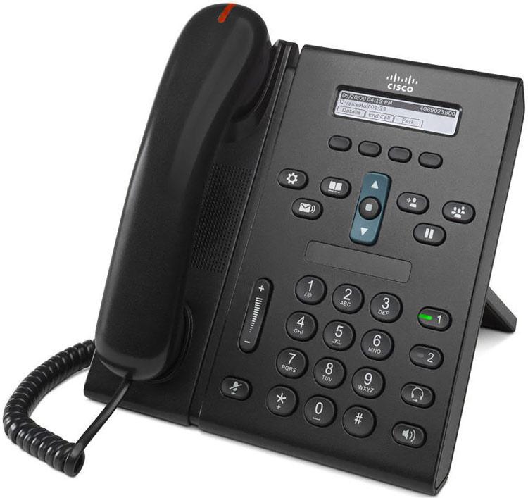 تصویر سمت چپ گوشیCisco-6921-IP-Phone-2