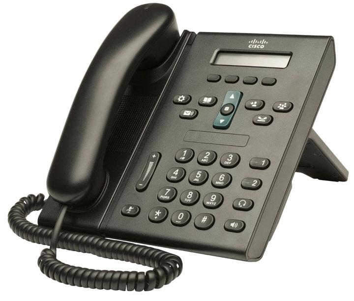نمای بغلCisco-6921-IP-Phone-3