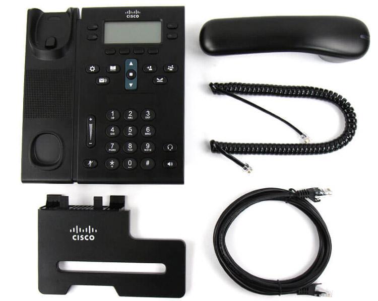 همرها با قطعات تشکیل دهندهCisco-6921-IP-Phone-4