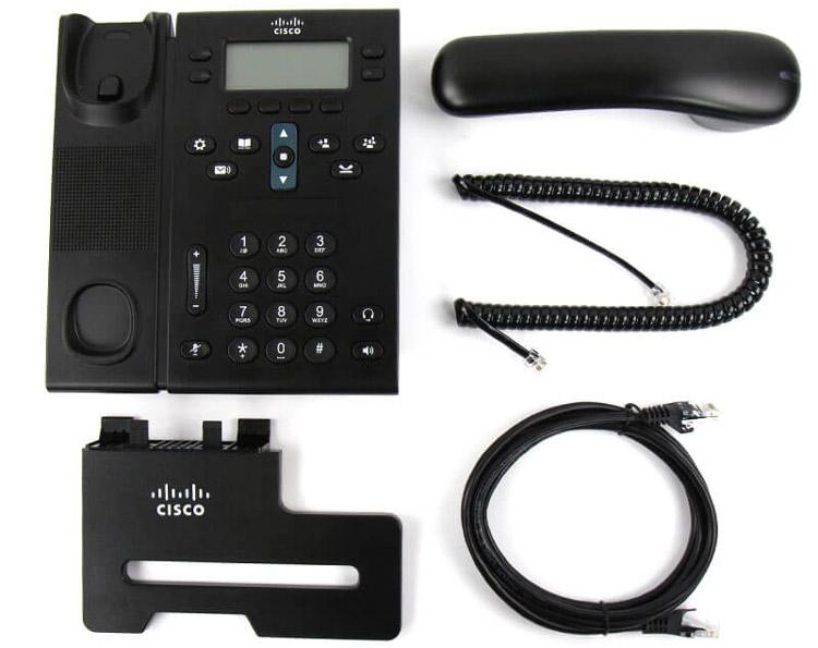 همراه با قطعات Cisco 6941 IP Phone