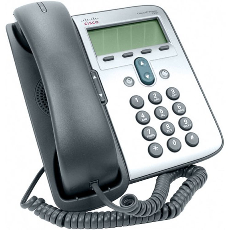 نمای سمت راست Cisco 7906G IP Phone