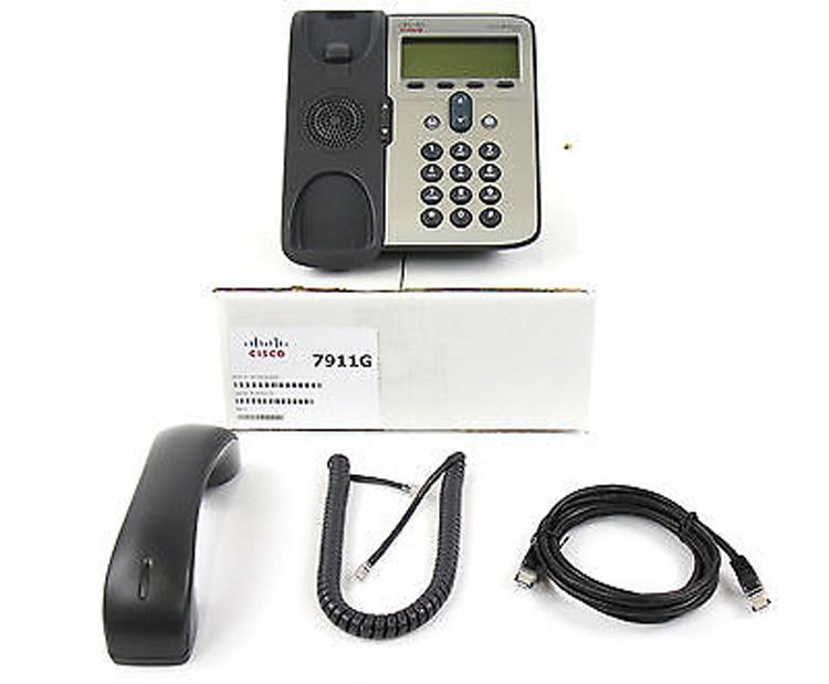 همراه با قطعات متصل شونده Cisco 7911G IP Phone