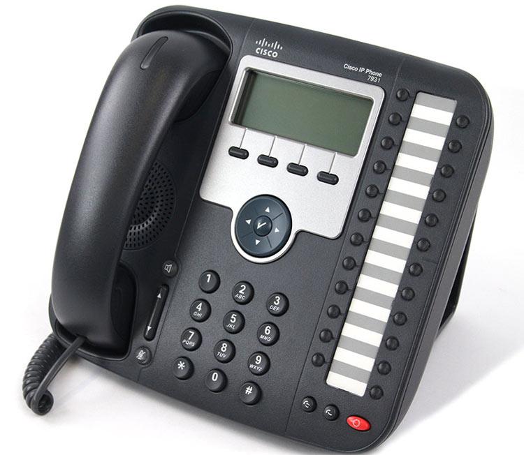 نمای سمت چپ Cisco 7931G IP PHONE
