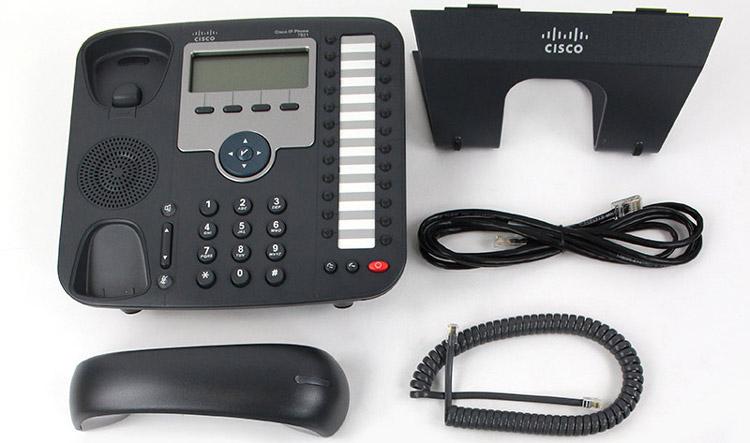 همراه با قطعات تشکیل دهنده Cisco 7931G IP PHONE