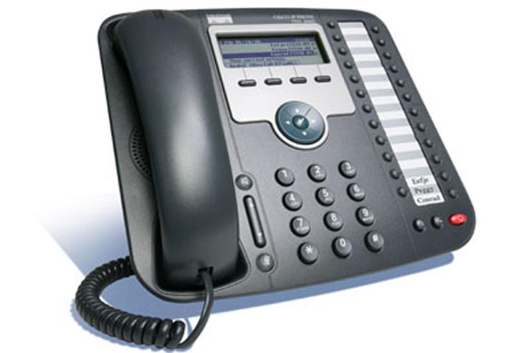 نمای سمت راست Cisco 7931G IP PHONE