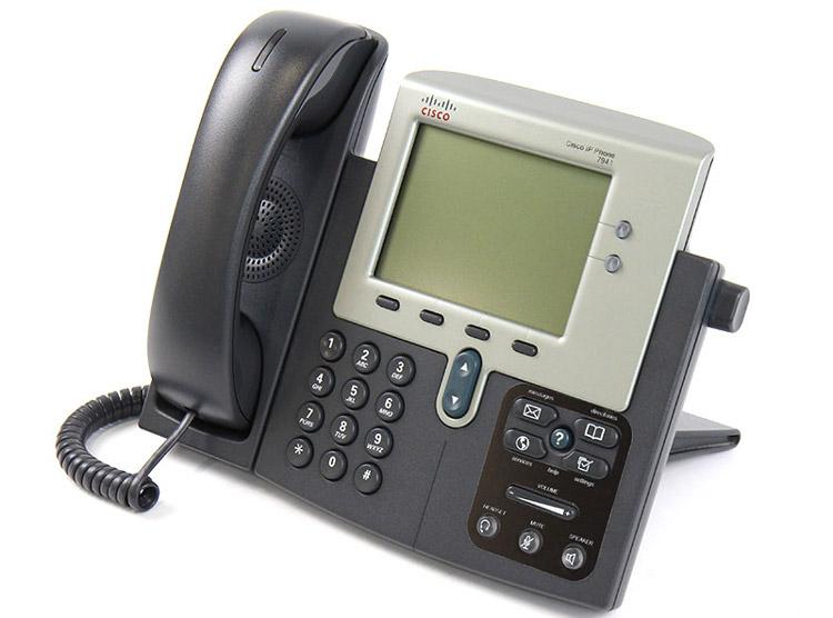 نمای سمت چپ Cisco 7941G IP PHONE