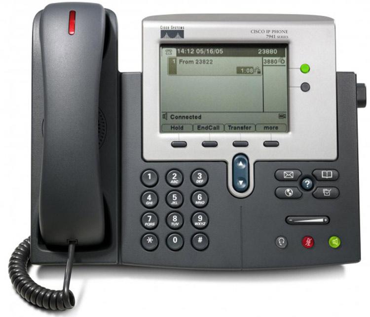 نمای روبرو Cisco 7941G IP PHONE