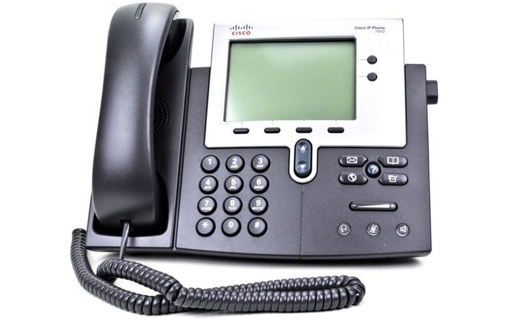 نمای روبرو Cisco 7942G IP PHONE