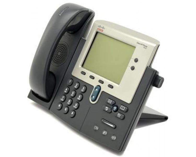 نمای سمت چپ Cisco 7942G IP PHONE