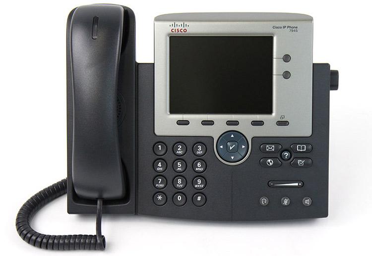 تصویر روبرو Cisco 7945G IP PHONE