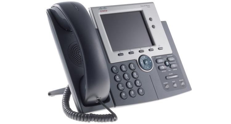 تصویر سمت راست Cisco 7945G IP PHONE