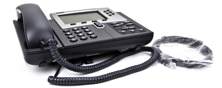 نمای پایین Cisco 7960G IP Phone