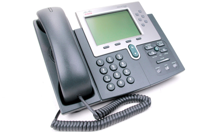 نمای سمت راست Cisco 7961G IP PHONE