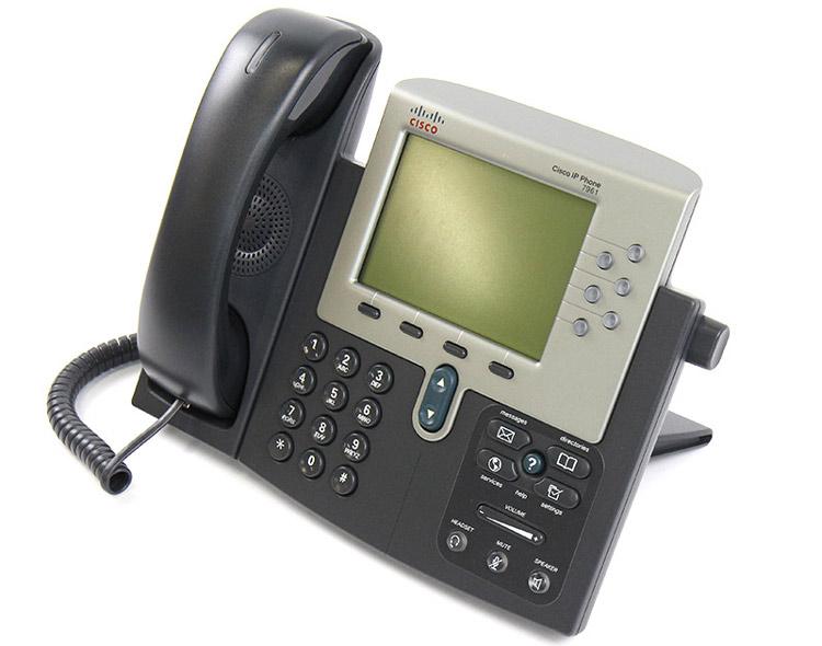 تصویر سمت چپ Cisco 7961G IP PHONE
