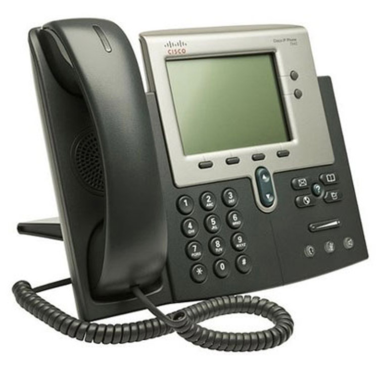 نمای سمت راست Cisco 7962G IP PHONE