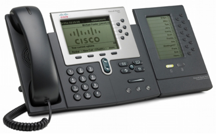 همراه با ماژول گسترش Cisco 7962G IP PHONE