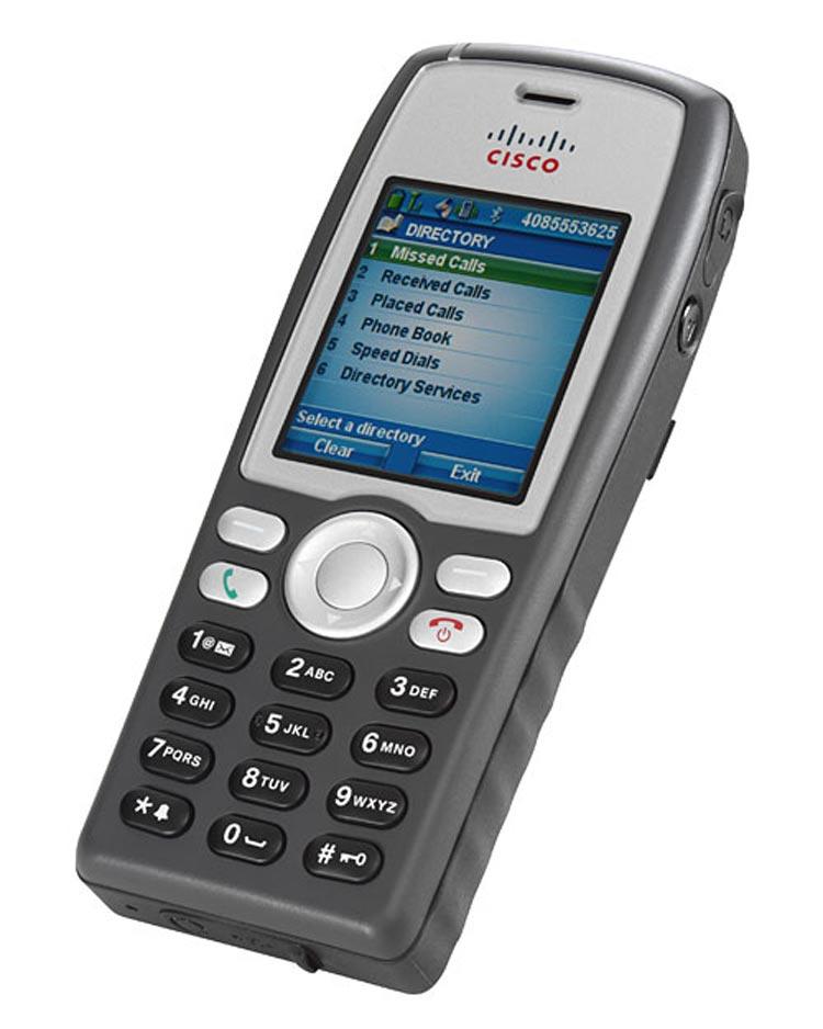 نمای کنار Cisco Unified Wireless IP Phone 7925G