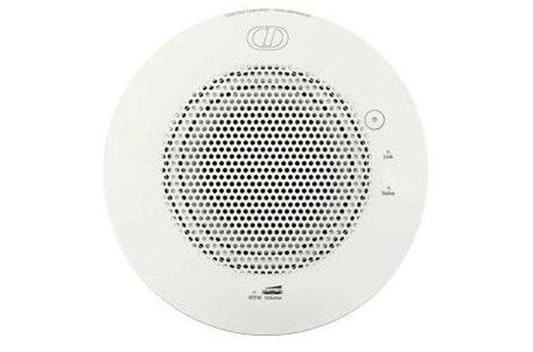 نمای روبرو  Cyberdata VoIP Ceiling Speaker V2