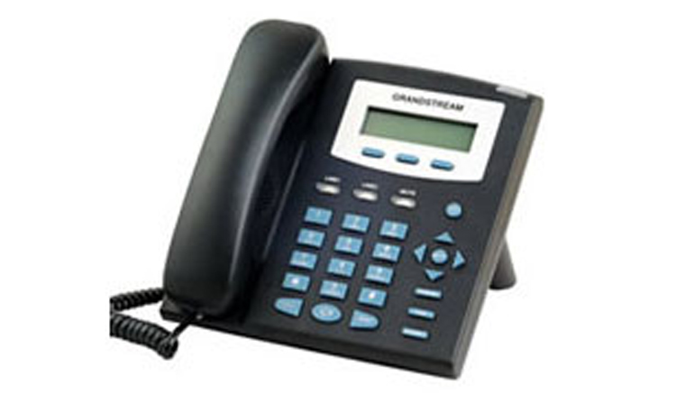 نمای سمت چپ Grandstream GXP1200 IP Phone