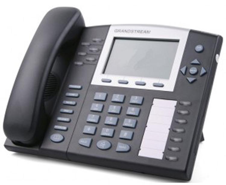 تصویر روبرو سمت چپ Grandstream GXP2010 IP Phone
