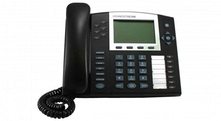 تصویر روبرو Grandstream GXP2020 ip phone