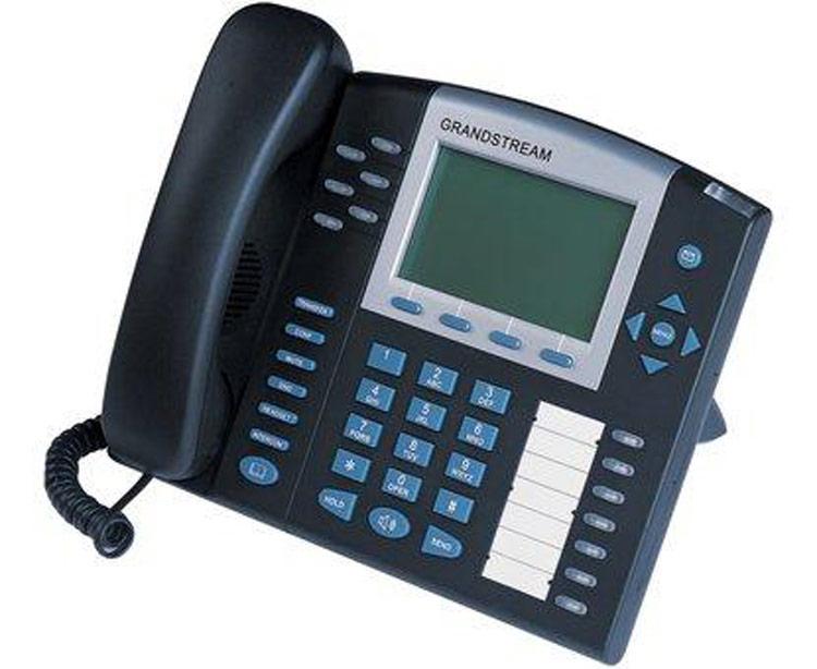 نمای سمت چپ Grandstream GXP2020 ip phone