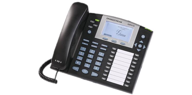 نمای بغل Grandstream GXP2110 ip phone