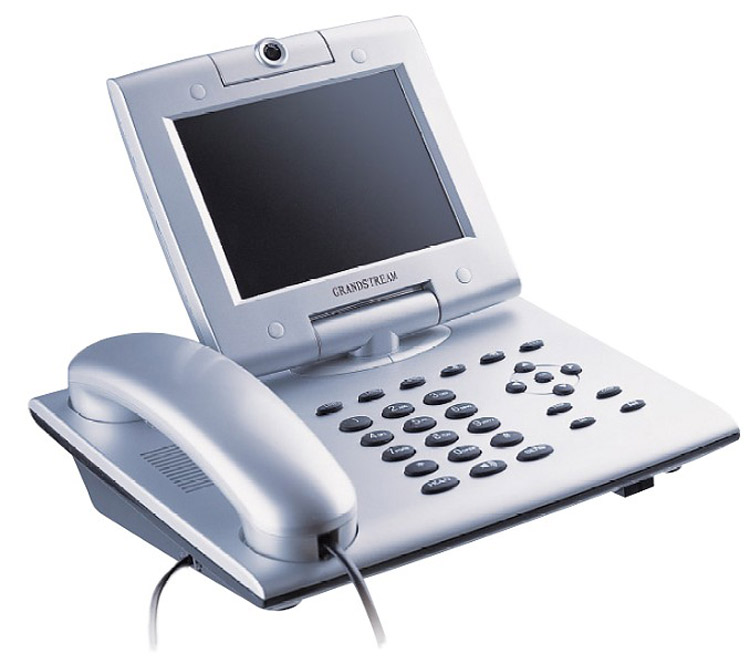 تصویر جلو سمت راست Grandstream GXV3000 Video IP Phone