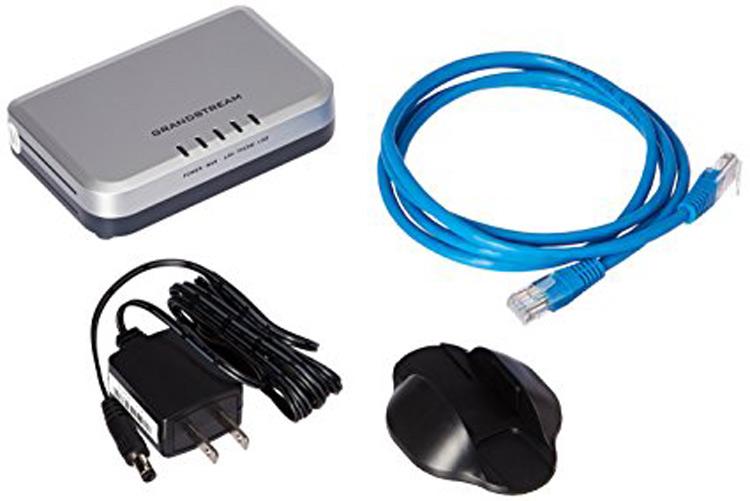 همراه با قطعات و سیم ها Grandstream HT503 VoIP Adapter