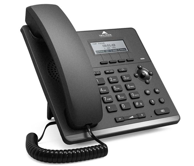 نمای جانبی بغل Newrock-NRP-1002P-IP-Phone-1