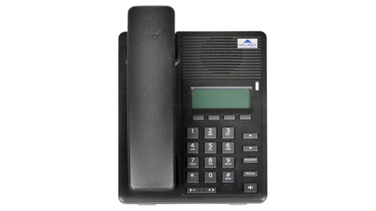 نمای روبرو Newrock NRP1000 IP Phone