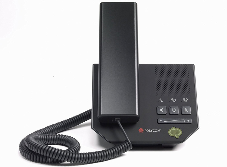 نمای روبرو Polycom CX200 IP Phone