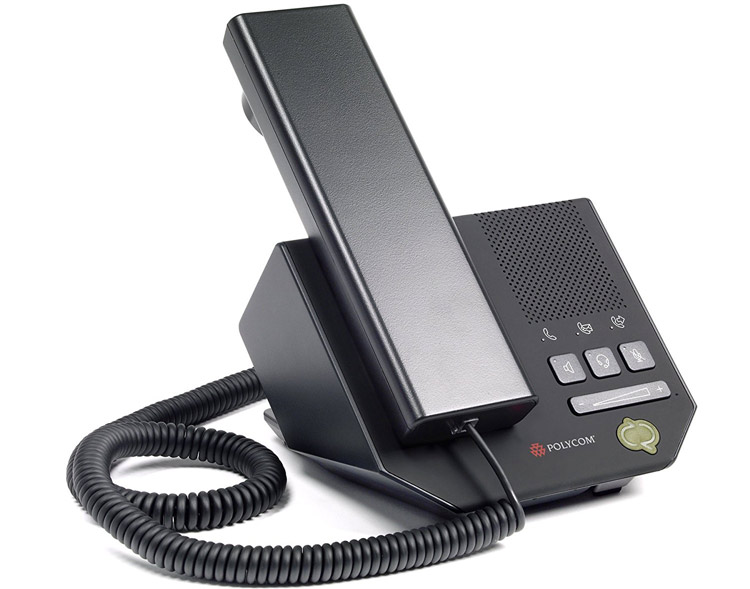 نمای بغل سمت راست Polycom CX200 IP Phone