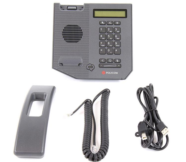 همراه با قطعلات Polycom CX300 Desktop phone