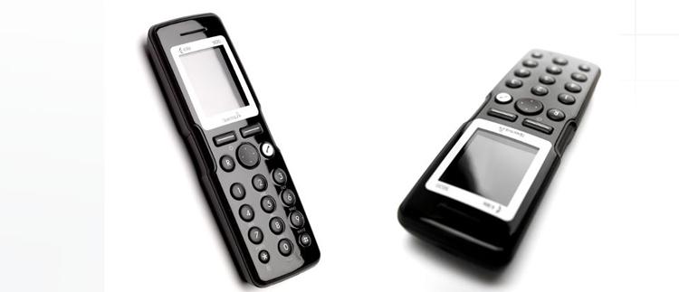 دو نمای بالا و کنار Polycom Kirk 5020 Handset Dect Phone