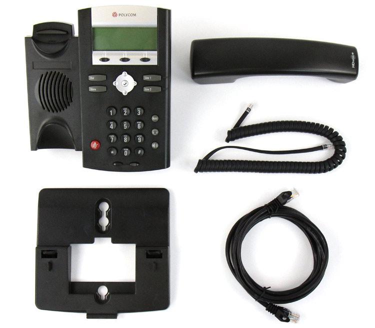همراه با سیم و قطعات Polycom SoundPoint IP 321