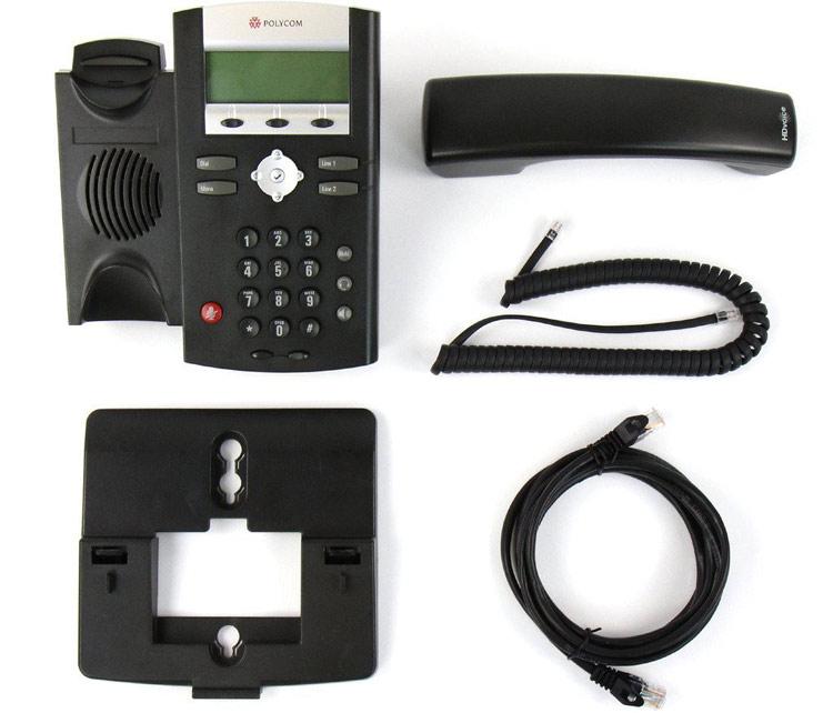 همراه با قطعات Polycom SoundPoint IP 330