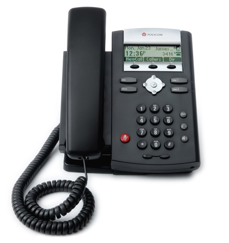 نمای روبرو Polycom SoundPoint IP 331