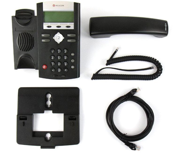 همراه با قطعات Polycom SoundPoint IP 331