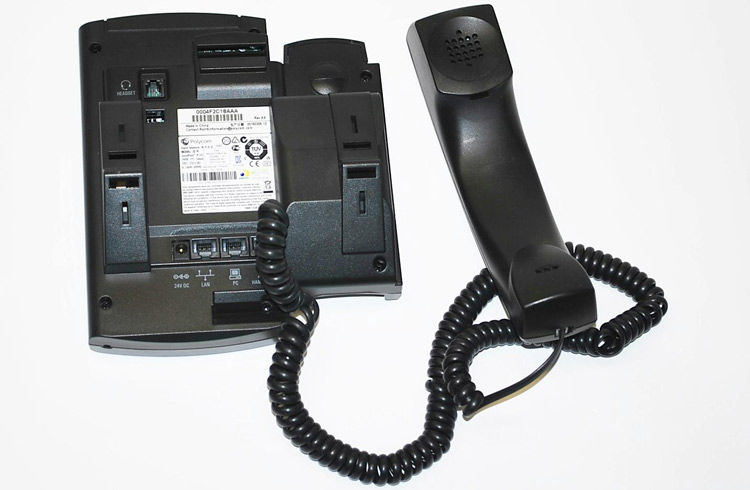 نمای پشت Polycom SoundPoint IP 335