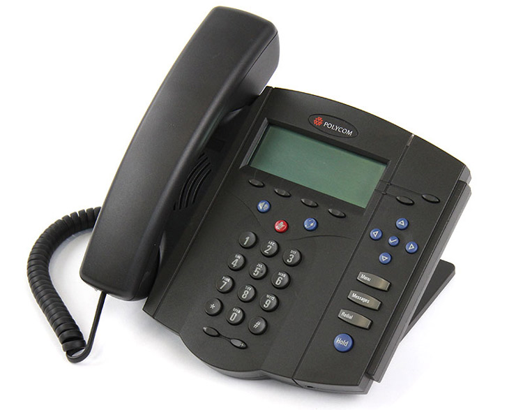 نمای سمت چپ Polycom SoundPoint IP 430
